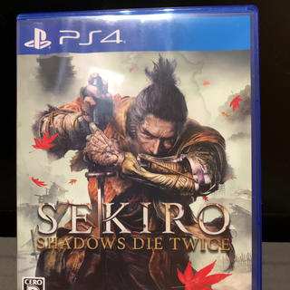 PlayStation4 - PS4 SEKIRO:SHADOWS DIE TWICE セキロウ