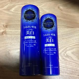 アクアレーベル  化粧水 乳液 セット