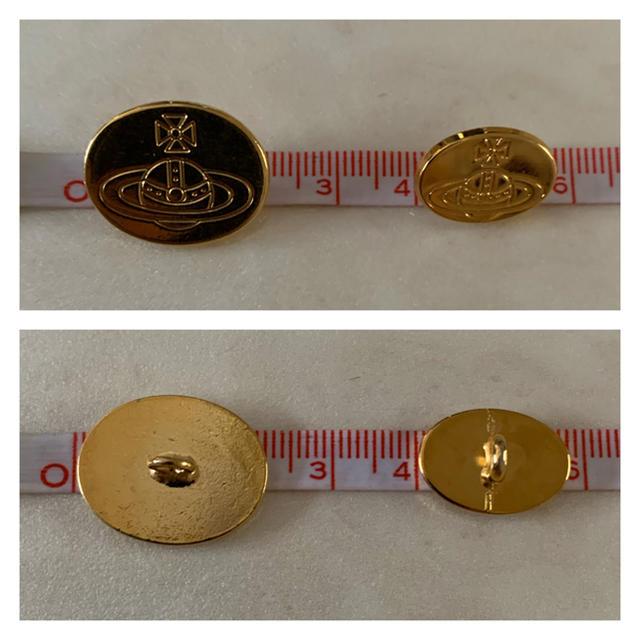 Vivienne Westwood(ヴィヴィアンウエストウッド)のヴィヴィアン ボタン ゴールド リメイク Vivienne Westwood レディースのアクセサリー(リング(指輪))の商品写真