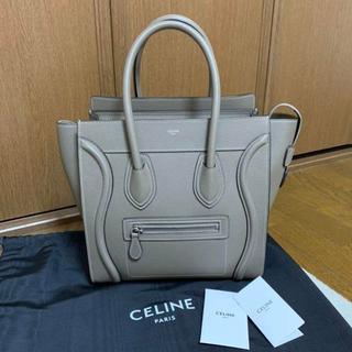 celine - 極美品☆ セリーヌ ラゲージ ハンドバッグ