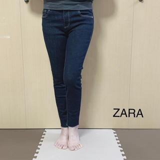 ザラ(ZARA)のZARA trafaluc カットオフデニム(デニム/ジーンズ)