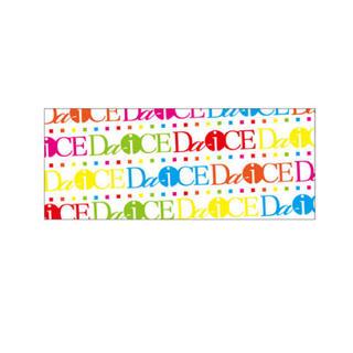 ダイス(DICE)のDa‐iCE モノグラム マルチカラーフェイスタオル (ホワイト)(ミュージシャン)