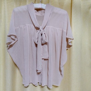 クチュールブローチ(Couture Brooch)のCouture brooch クチュールブローチ シフォンブラウス(シャツ/ブラウス(半袖/袖なし))