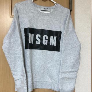 エムエスジイエム(MSGM)のmsgm トレーナー(トレーナー/スウェット)