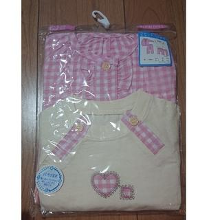 西松屋 - 新品 女の子 2セットパジャマ(90サイズ)