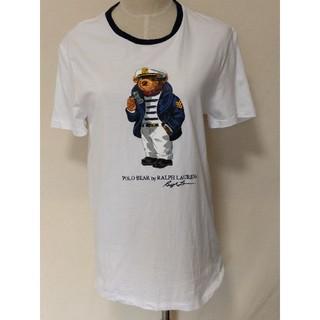 POLO RALPH LAUREN - POLO ラルフローレン テディーベア 半袖Tシャツ レディース 白 Mサイズ