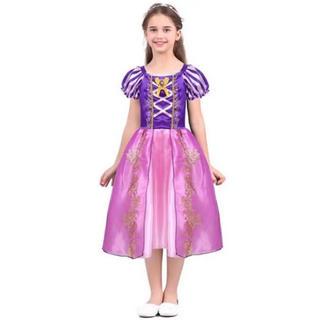 ディズニー(Disney)のラプンツェル ドレス プリンセスドレス 衣装 コスプレ(ドレス/フォーマル)