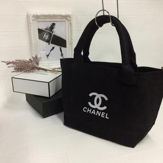 CHANEL - ブラックトート ノベルティ シャネル