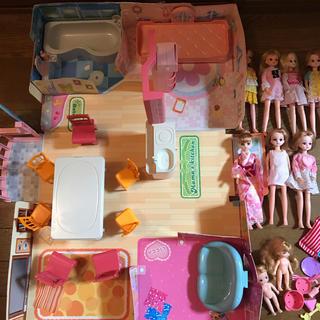 リカちゃんハウス お人形家具色々セットまとめ売り