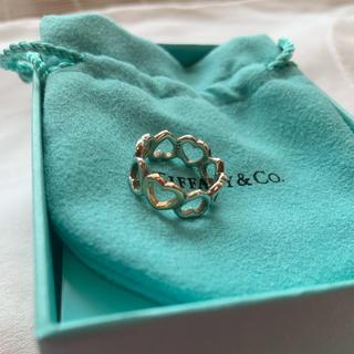 Tiffany & Co. - ティファニー ハート リング 7号