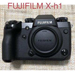 フジフイルム(富士フイルム)のFUJIFILM富士フイルム X-H1 ボディ ショット数僅か3250回(ミラーレス一眼)