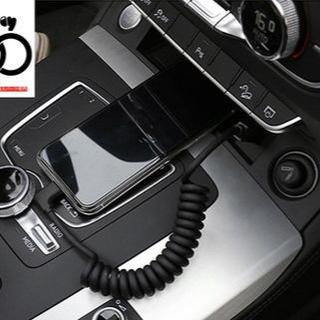 AUDI - 送料無料 純正輸入品 Audi アウディ 車載L型充電ケーブル 2本セット