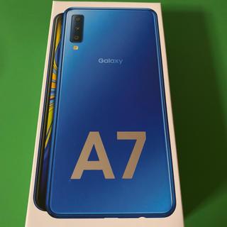 ギャラクシー(Galaxy)のGalaxyA7 楽天モバイル対応simフリースマートフォン(スマートフォン本体)