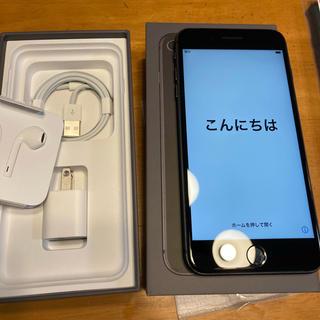 アップル(Apple)のiPhone8Plus Space Gray 64GB SIMフリー化済み(スマートフォン本体)