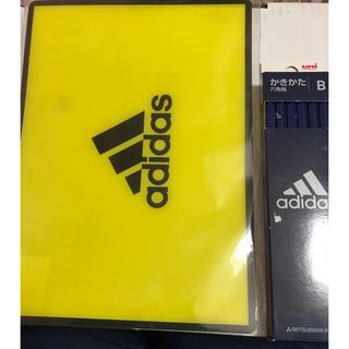 アディダス(adidas)のadidas 下敷き1枚と鉛筆B12本 セット(その他)
