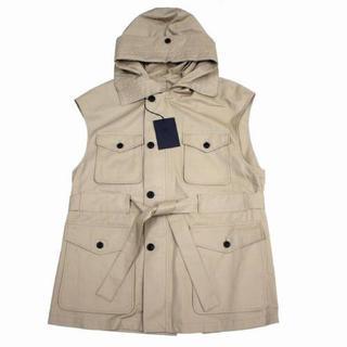 コモリ(COMOLI)の新品未使用 uru tokyo 19ss cotton zip up vest(ベスト)
