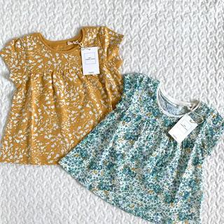 ネクスト(NEXT)の【☆新品☆】花柄オーガニックコットンTシャツ 2枚セット(Tシャツ)