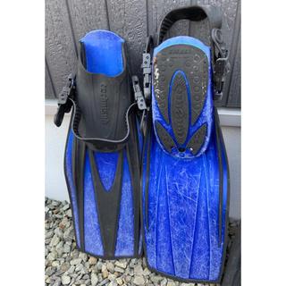 アクアラング(Aqua Lung)のレンタル器材に!ダイビング フィン アクアラング&TUSA 2本セット(マリン/スイミング)