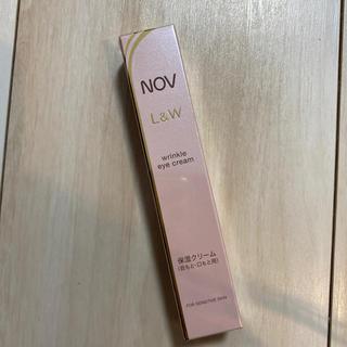 ノブ(NOV)のノブ NOV L&W リンクルアイクリーム(アイケア/アイクリーム)