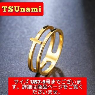 ★新品☆リング ゴールド サージカルステンレス ヴィンテージ風 送料無料(リング(指輪))