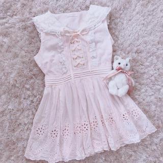 Honey Cinnamon - 今週限定 レア baby pink onepiece