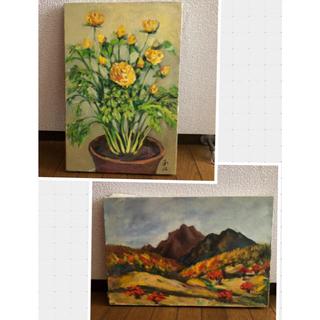 油絵 キャンバス画 P6(41×27.3cm)(アート/写真)