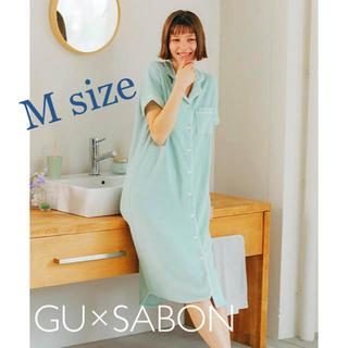 SABON - 【早い者勝ち!】SABON×GU*ミントパジャマワンピース(Mサイズ)