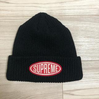 シュプリーム(Supreme)のsupreme 18aw oval patch beanie(ニット帽/ビーニー)