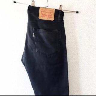 Levi's - 【Basic】Levi's 511 ローライズ スキニーパンツ ブラック W28