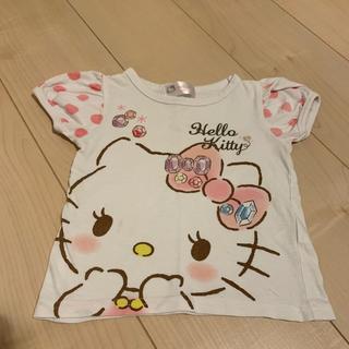 シマムラ(しまむら)のハローキティー パフ袖Tシャツ(Tシャツ/カットソー)