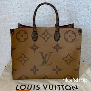 LOUIS VUITTON - 美品!ルイヴィトン スモール オンザゴー MM バッグ