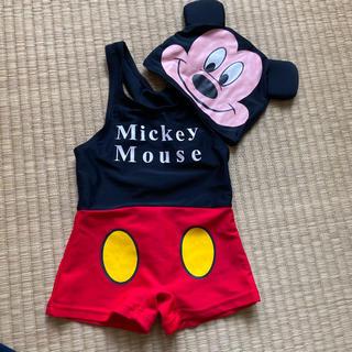ディズニー(Disney)のディズニー スイムウエア 水着 ミッキー Disney グレコ 80(水着)