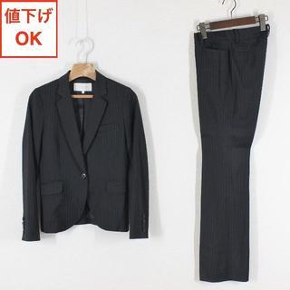 PROPORTION BODY DRESSING - プロポーション ボディドレッシング パンツスーツ 1 黒 S tqe ★極美品★