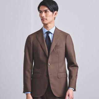 UNITED ARROWS - 【ほぼ新品】UNITED ARROWS  ブラウン スーツ