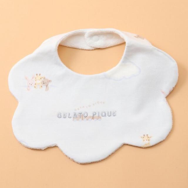 gelato pique(ジェラートピケ)のジェラートピケ   ドリームアニマル baby スタイ ブルー キッズ/ベビー/マタニティのこども用ファッション小物(ベビースタイ/よだれかけ)の商品写真