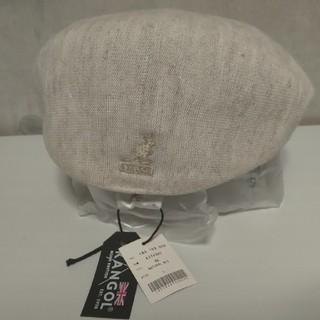 KANGOL - 新品! KANGOL(カンゴール)ハンチング帽 Lサイズ (ナチュラルホワイト)