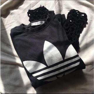 アディダス(adidas)の古着 Adidas x DRYCLEANONLY リメイクTシャツ(Tシャツ(長袖/七分))
