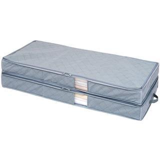 竹炭着物収納ケース 2層式(押し入れ収納/ハンガー)