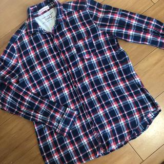 シマムラ(しまむら)のSorridere チェックシャツ ネルシャツ Lサイズ(シャツ/ブラウス(長袖/七分))