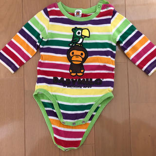 A BATHING APE - BABYMILO     A BATHING APE.  ロンパース