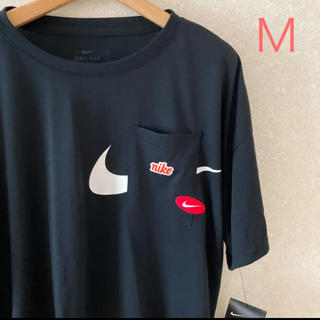 NIKE - M☆ ルーズ Tシャツ 胸ポケット NIKE レデ