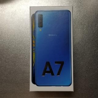 ギャラクシー(Galaxy)のGalaxy A7 ブルー 64 GB(スマートフォン本体)