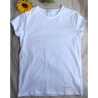 ドゥーズィエムクラス(DEUXIEME CLASSE)の【新品未使用】et puis place/シンプル♡清楚な白Tシャツ(Tシャツ(半袖/袖なし))