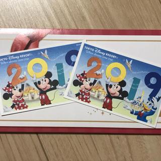 ディズニー(Disney)のディズニー チケット 2枚セット 1dayパスポート 大人(遊園地/テーマパーク)