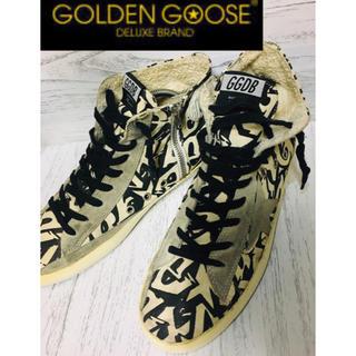 ゴールデングース(GOLDEN GOOSE)のゴールデングース GOLDEN GOOSE ハイカット スニーカー ☆約26cm(スニーカー)