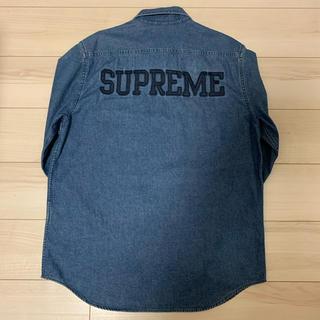 Supreme - Supreme 16SS Denim Zip Shirts シュプリーム シャツ