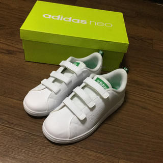 アディダス(adidas)のadidas neo VALCLEAN2 キッズスニーカー 未使用 アディダス(スニーカー)