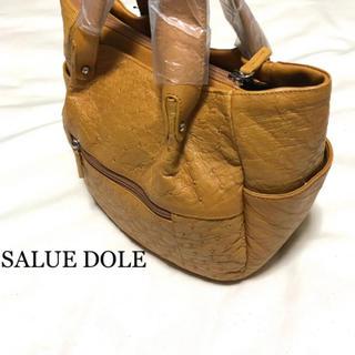 オーストリッチ(OSTRICH)の新品 SALUE DOLE サルエドール オーストリッチ ハンドバッグ(ハンドバッグ)