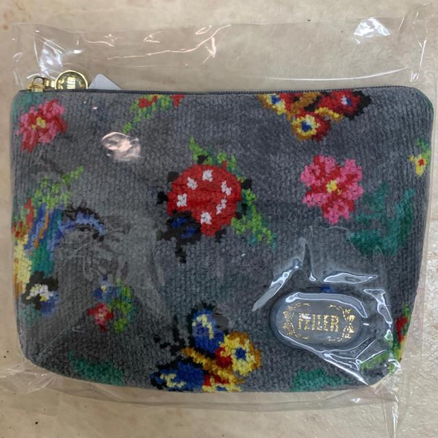 FEILER(フェイラー)のフェイラーグレーハイジポーチ大 レディースのファッション小物(ポーチ)の商品写真