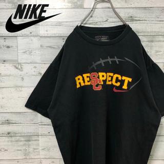 ナイキ(NIKE)のNIKE ☆デカロゴ 黒 Tシャツ カットソー(Tシャツ/カットソー(半袖/袖なし))